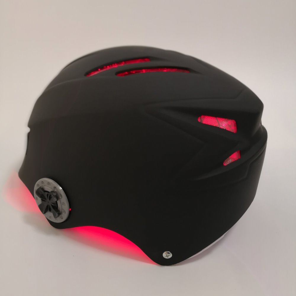 laser hair loss solution cap helmet low level laser therapy for hair growth high technology laser helmet hair growth and oil control for health care home use protable tools