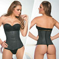 Wholesale price!!! Hourglass ann cherry style waist trainer corset XS~3XL Genuine 100% Real Latex waist trainer corsets