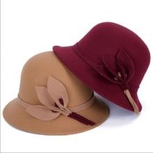 Moda Inglese ragazza alla moda cappelli Imitazione di lana top cappello  nuovo autunno e inverno perla d71c8a872453
