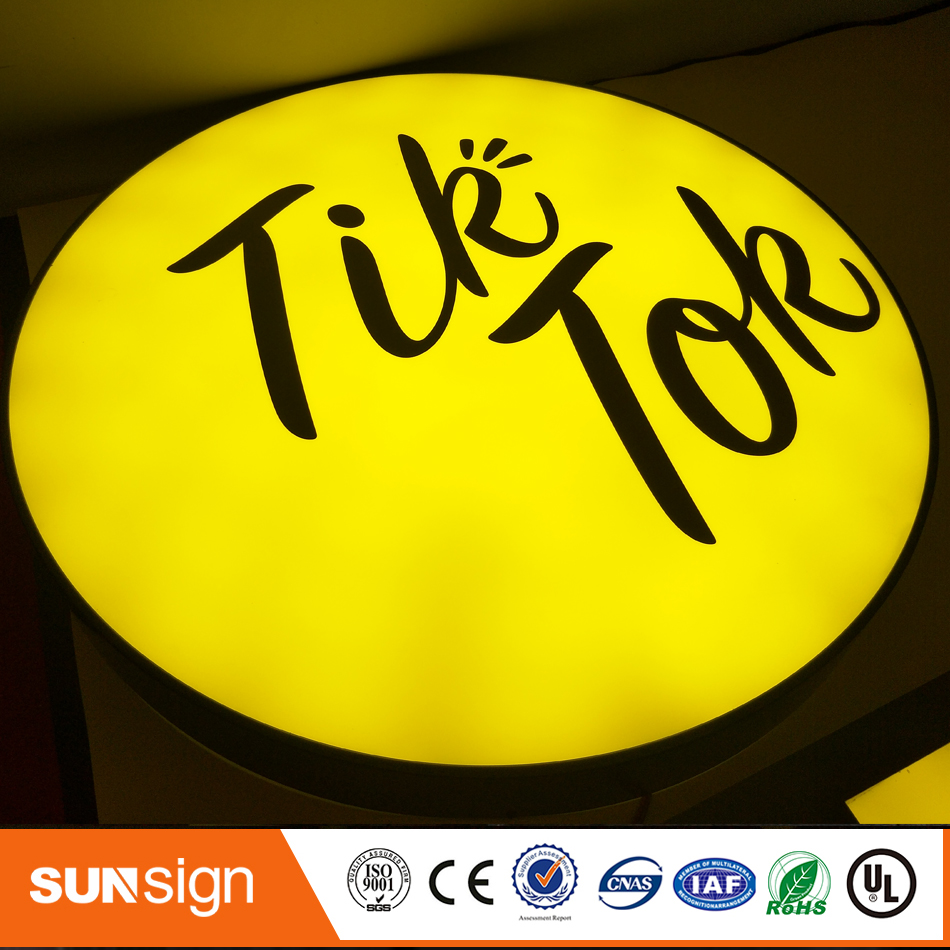 Advertising Led Illuminated Outdoor Light Box Sign