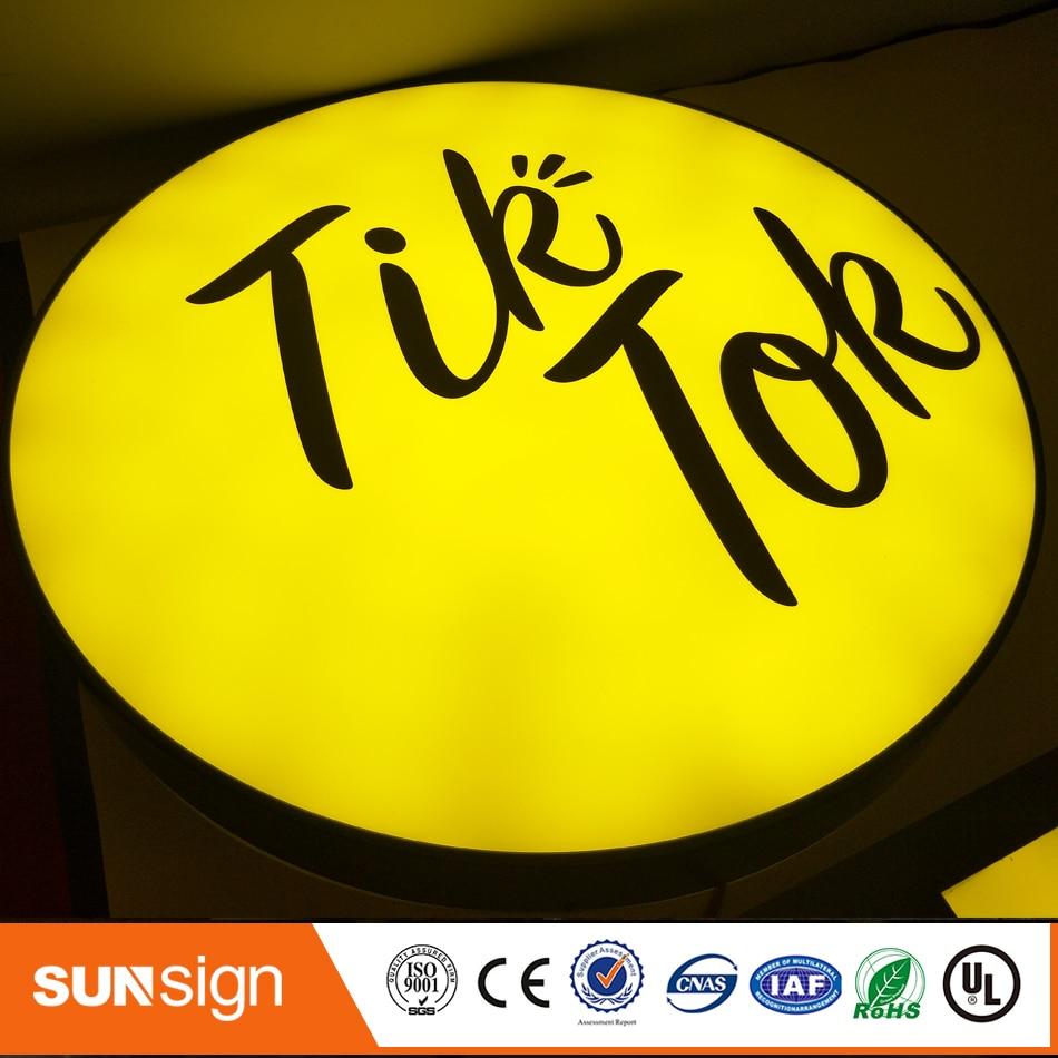 Advertising Led Illuminated Outdoor Light Box Sign