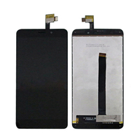 Black White For UMI Super LCD Display With Touch Screen Digitizer Assembly Free Shipping