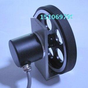 Image 3 - Rotary encoder meter wheel With wheels holder Encoder one set Encoder plus meter wheel bracket
