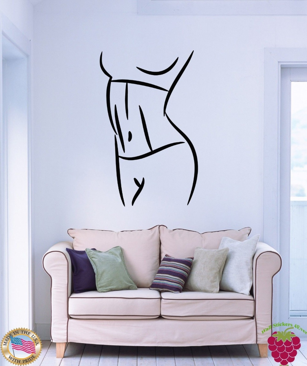 Fitness Studio Wall Art Sticker Live Love Yoga