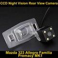 Камера заднего вида Обратный Парковка Камера для Mazda 323 2003 ~ 2012 Allegro 2003 ~ 2012 Familia 2003 ~ 2012 Premacy MK1 1999 ~ 2009