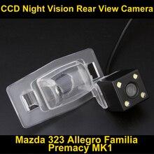 Заднего вида Камера Обратный Парковка Камера для Mazda 323 2003 ~ 2012 Allegro 2003 ~ 2012 Familia 2003 ~ 2012 Premacy MK1 1999 ~ 2009