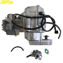 Tdpro 4-х тактный 35cc двигатель электрический запуск+ гоночный карбюратор для 50CC 110CC мини ATV Quad Go Kart Багги Мини карманный велосипед