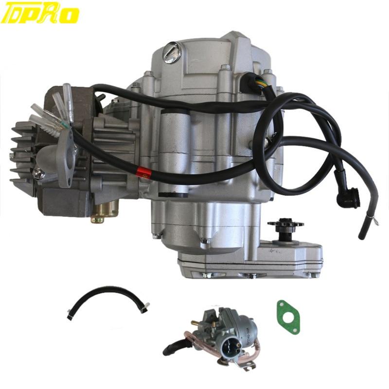 TDPRO poche vélo 4 temps 35cc moteur moteur Kit démarrage électrique pour 50CC 110CC Mini ATV Quad Go Kart Buggy Pitbike