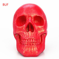 Resin Craft Statues For Decoration Red Skull Creative Red Skull Figurines Sculpture Home Decoration Accessories