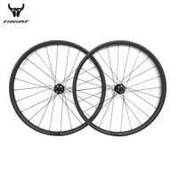 Mountain Bike Bicycle Carbon Clincher Wheels mtb 29er Width 27mm 30mm 35mm 40mm Disc Brake Bicycle Rim Wheelset