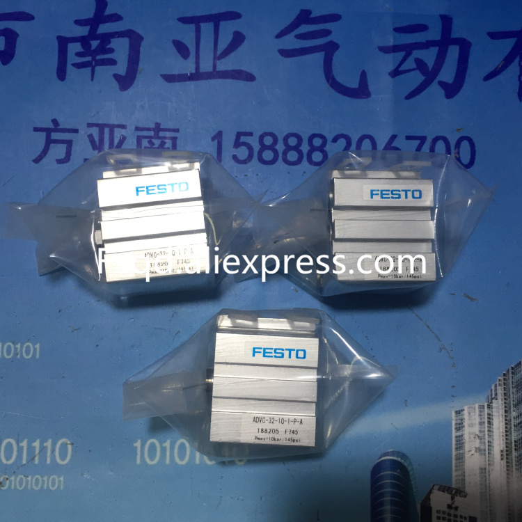 ADVC-20-10-I-P-A ADVC-32-10-I-P-A FESTO Thin cylinder air cylinder pneumatic component air tool ADVC series dhl ems new festo short stroke cylinder advc 12 10 a p a for industry use a1