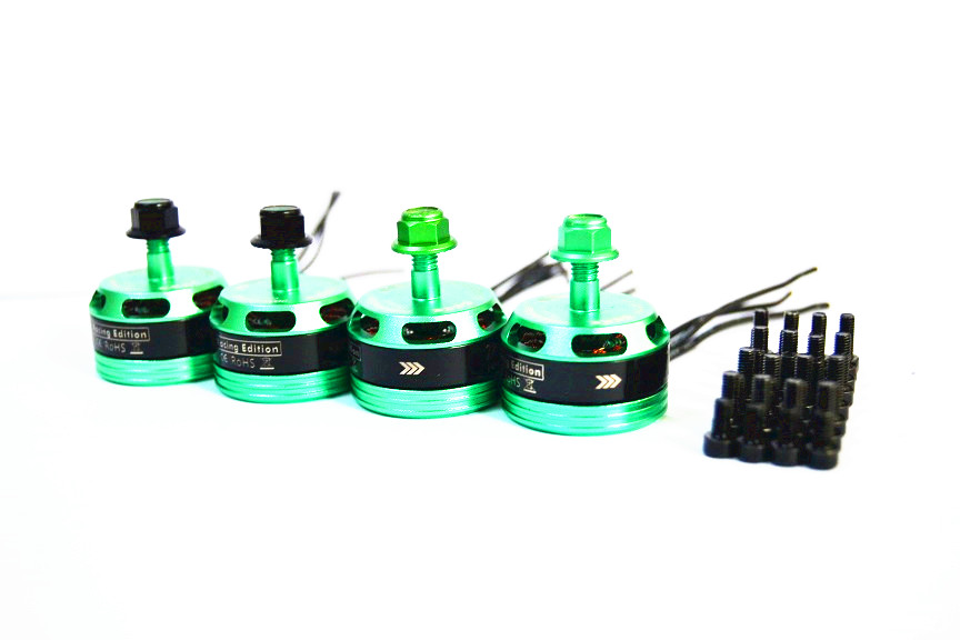 Hot New TendFlying Racing Edition DX2205 <font><b>BR2205</b></font> 2300KV 2-4S Brushless Motor CW/CCW For QAV250 ZMR250 image