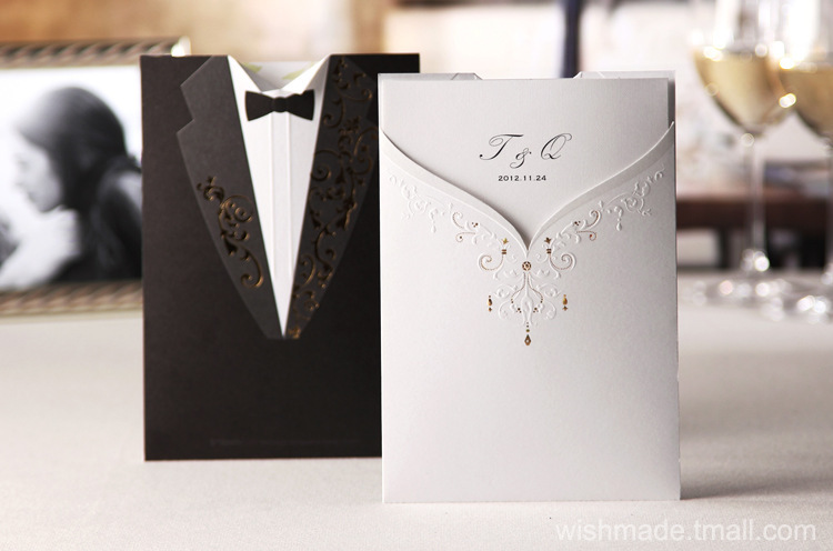 Online Get Cheap Pocket Wedding Invitation Kits Aliexpress – Online Engagement Invitation Cards Free