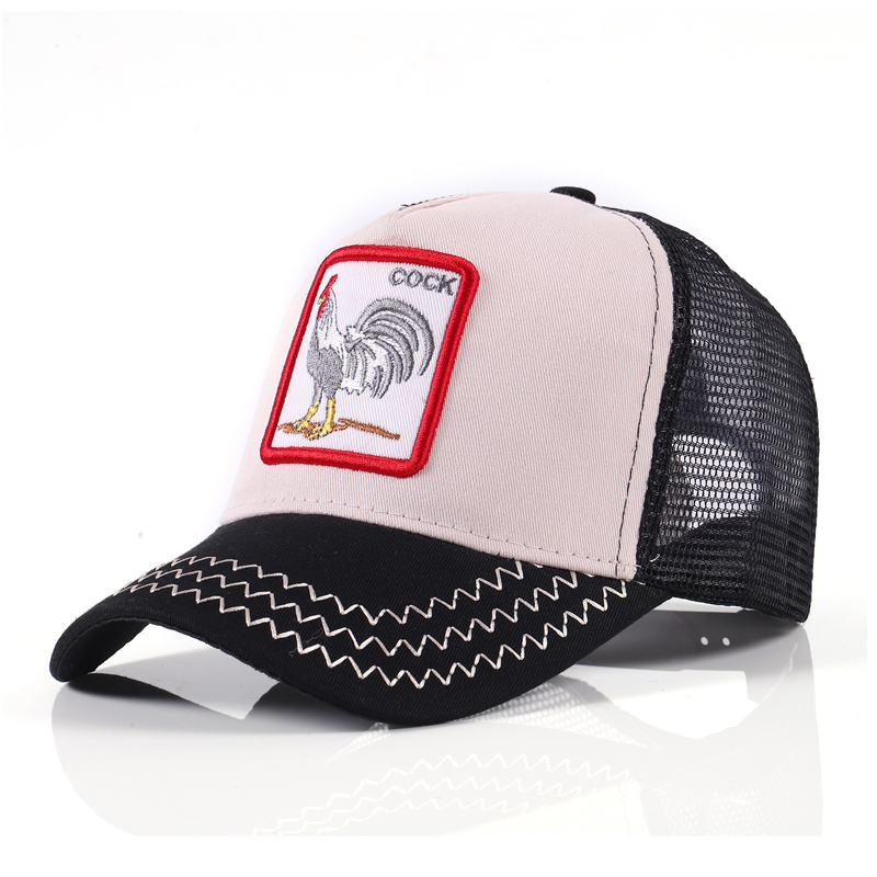 gorra hip hop sombrero hombres mujeres clásico 5 paneles algodón parche de plást