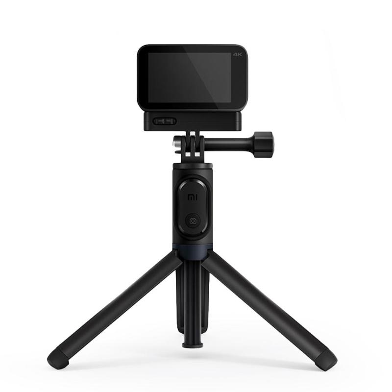 Xiaomi Mijia Portable Bluetooth Selfie Stick Extendable Tripod Monopod For Mijia Small Camera Small Camera Waterproof Case цена 2017