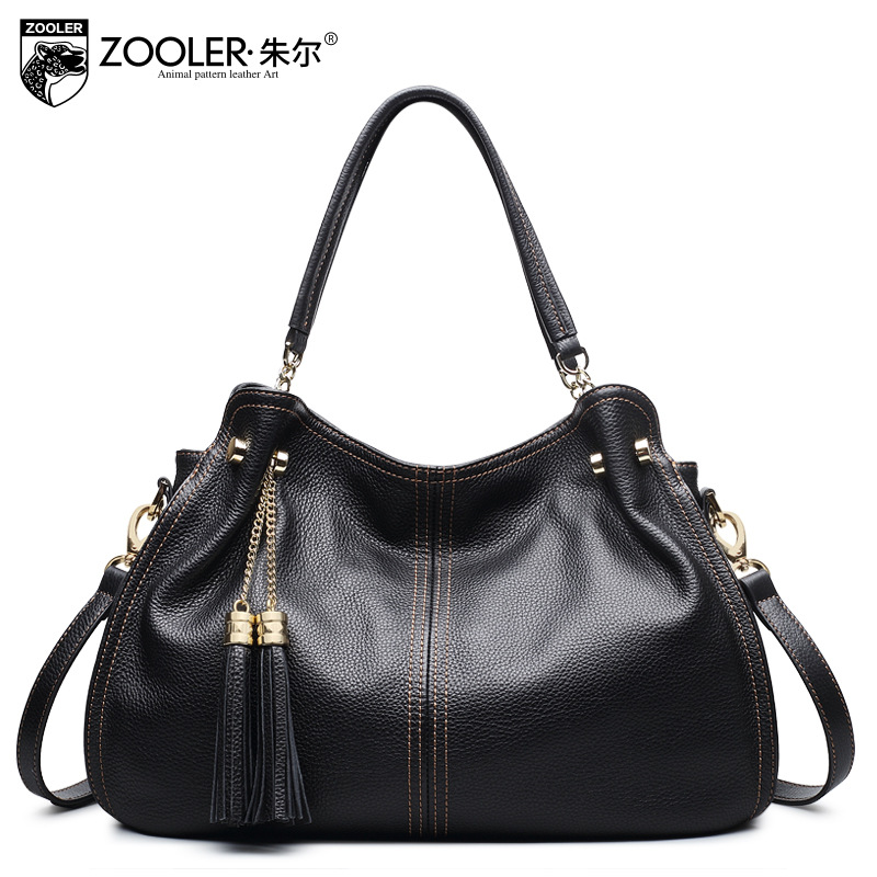 ZOOLER Brand Luxury Handbags Women Bags Designer 2018 Spring Cowhide Tassel Dumplings Shoulder Bag Woman Fashion Tote Bag Bolsas fashion venetian pearl decoration sunglasses brand designer luxury women round sun glasses shades spring summer style eyewear