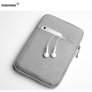 """6"""" Sleeve Case Pouch For Kobo Clara Clear HD Aura N514 2013 for inkbook classic 2 prime 6 Inch For Tolino vision HD4 E-BOOK Bag(China)"""