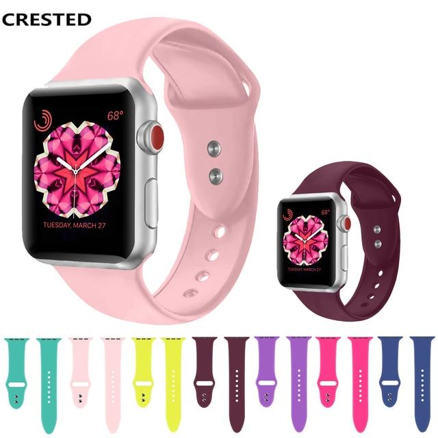 74d14f043de Esporte Silicone faixa de Relógio cinta Para Apple 4 3 2 1 iwatch ...