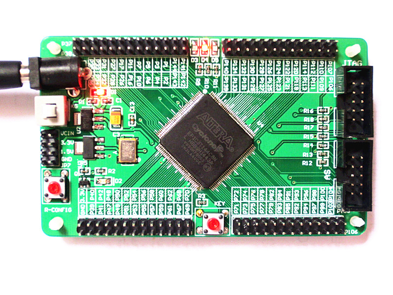 Free Shipping   FPGA Development Board Cyclone Learning Board Ep1c3t144c8n Altera Core Board Test Board