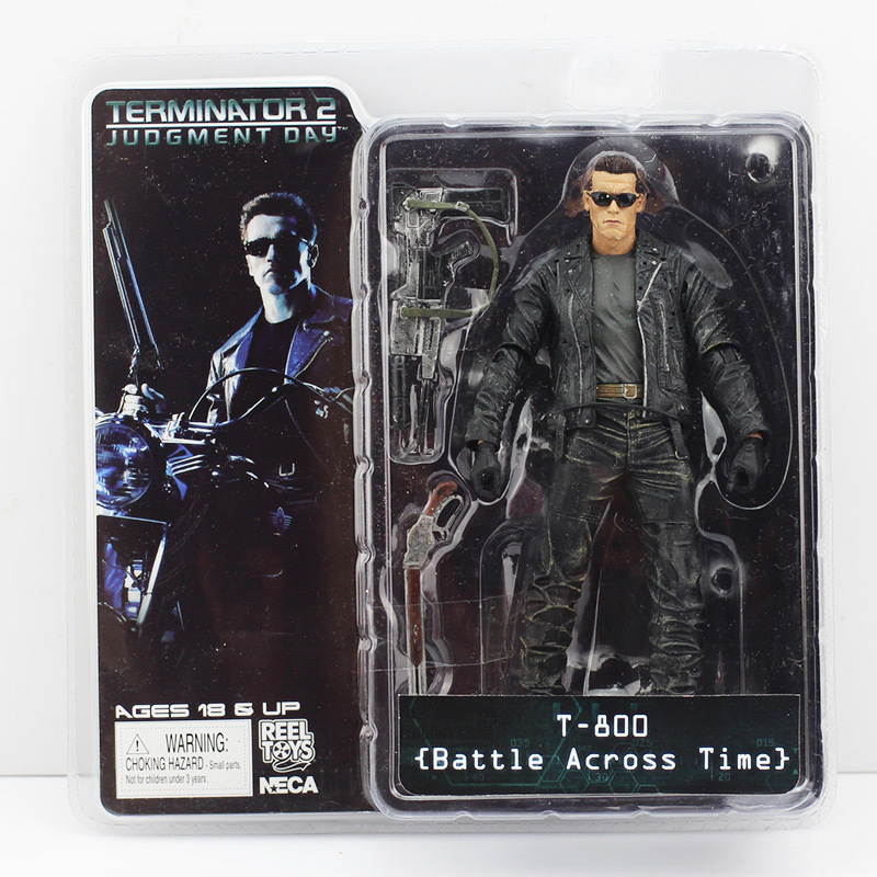 Image 4 - Terminator 18cm 6 Styles NECA The Terminator 2 Action Figure T 800 ENDOSKELETON Model Toys-in Action & Toy Figures from Toys & Hobbies