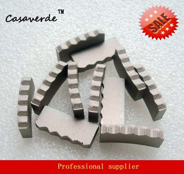 DC-DSCB110 M type D110mm diamond concrete segment for reinforced concrete dc m клемма