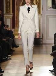 Для женщин Дамы индивидуальный заказ офисные Деловой смокинг Формальные Повседневная обувь костюмы Индивидуальный Пошив