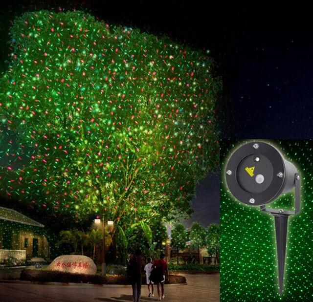 32bb1fbab7b Elf light navidad enciende el proyector láser exterior   verde y rojo en  movimiento jardín laser