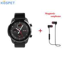 Kospet Brave 4G Smartwatch Phone 1.3 inch Android 6.0 MTK6737 Bluetooth 4.0 2GB RAM 16GB ROM IP68 Waterproof Smart Watch Men(China)