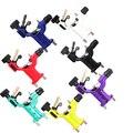 Dragonfly Rotary Máquina de Tatuaje Shader y Delineador 7 Colores Surtidos Tatoo Del Motor Del Arma Kits de Alimentación Para Los Artistas