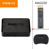 Originale Nuovo Processore Più Veloce Linux MAG250 IPTV set top box HD Mini Pc Supporto USB WIFI box android mag250 tv box
