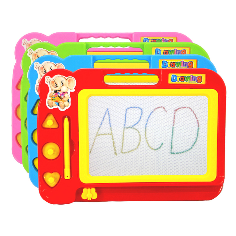 New BrandKids Drawing Board Plastic Colorful Magnetic Writing Board Children Toy