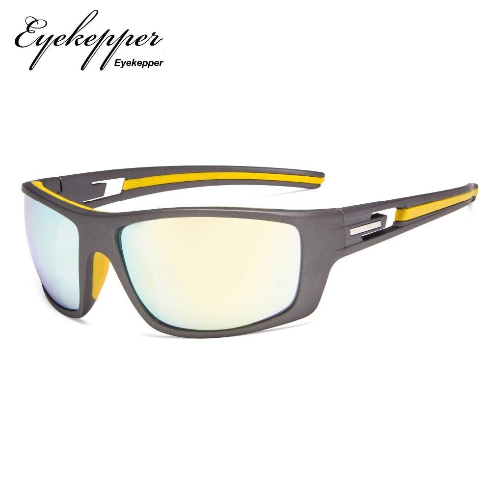 S066-Bifocal   Eyekepper Bifocal Sun Readers Reading Sunglasses For Sports TR90