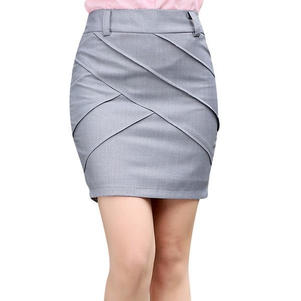 Aliexpress.com : Buy Hot Office Lady Wrap Work Skirts Summer ...