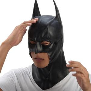 Image 4 - Batman Mask Halloween masquerade party Masks Movie Bruce Wayne Cosplay mascara mascaras de latex realista carnaval masque terror