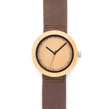Hot sell Women Dress Watch Wooden Watches Japan 2035 Quartz Movement Natural Wood Watch New Design Free Shipping Wholesale