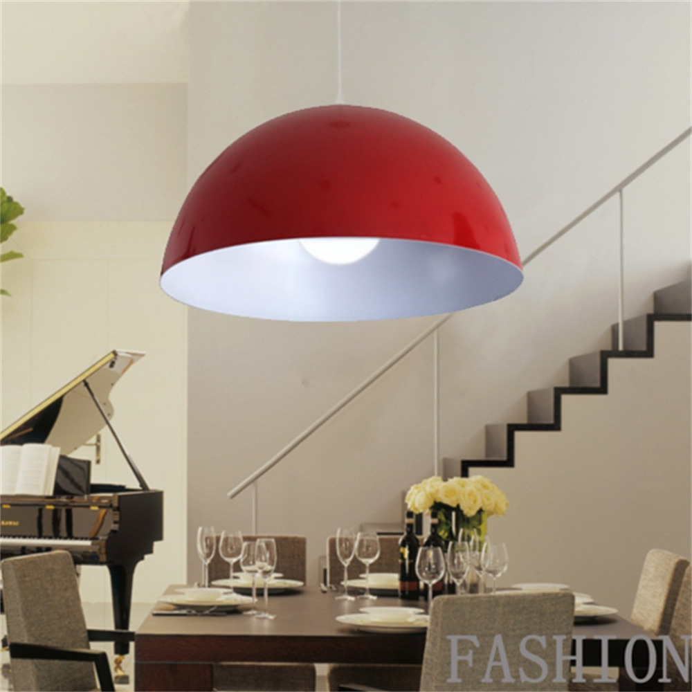 Retro Style Lamp Covers Shade Black White Red Metal Ceiling Pendant Light Lamps Lampshade white black pink rose red purple wine red modern globe shade feather pendant light lamp indoor deco ceiling fixture lighting