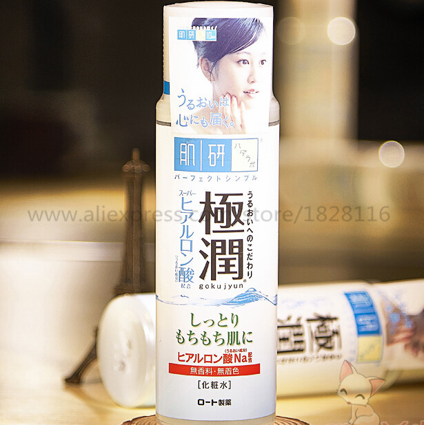 Hada Labo Hyaluronic Acid Moisturizing Hydrating Toner 170ml цена