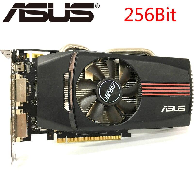 Видеокарта ASUS GTX 560, 1 Гб, 750 бит, GDDR5, графические карты для nVIDIA Geforce GTX560, б/у VGA карты, мощнее, чем GTX650 GTX