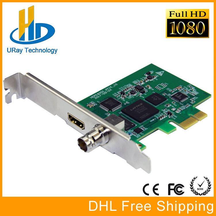 Full HD 1080P HDMI SDI Capture Card PCIe Game Capture PCI-E HD Video Audio Grabber HDMI /SDI To PCI PCIe For Windows, Linux dhl free shipping high end 1080p hdmi video capture card pci pcie hdmi video streaming grabber hd game capture card for pc