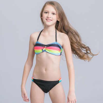 462a1bd97f ... Hot Sale Cheap Girls Bikini Children Swimsuit Patchwork Swimwear for Teenage  girl 3-12 Years ...