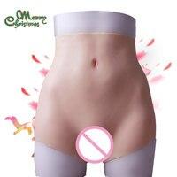Новое увеличение бедер боксер Силиконовое влагалище для трансвестита поддельные задницы ягодицы enhancer Shaper Hip Up для женщин киска нижнее бель