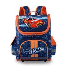 Boys Girls School Bags Backpacks Child Orthopedic Waterproof Backpack Boy Car Book bag Kids Satchel