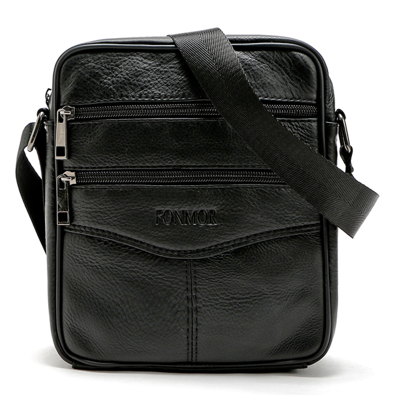 Vintage Men Shoulder Bag 100 Genuine Leather Messenger Bags Cowhide Men s Travel Bags Small Male