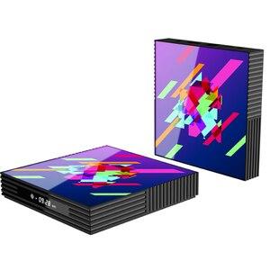 Image 5 - תיבת הטלוויזיה Google Play טלוויזיה תיבת אנדרואיד 9.0 Rockchip RK3318 4GB 64GB חכם טלוויזיה תיבת Bluethooth 2.4/5.0G WiFi אנדרואיד טלוויזיה תיבת PK H96MAX