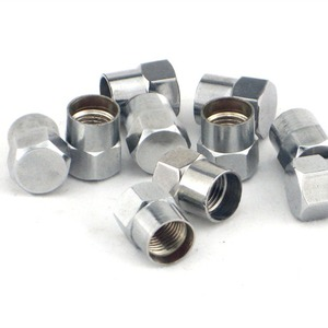 Image 1 - 50 шт. хромированные латунные шлицевые колпачки на клапан