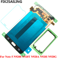 New Super AMOLED LCD Display 100 Tested Working Touch Screen Assembly For Samsung Galaxy Note 5