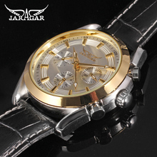 2016 Jargar Newest men big face watch original design montres watches homme Automatic 6 Hands Week/Date/24H luxury brand watch