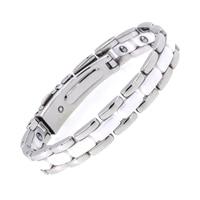 2017 Korean Fashion Gifts For Valentine S Day Magnetic Full Germanium White Ceramic Health Energy Bracelets