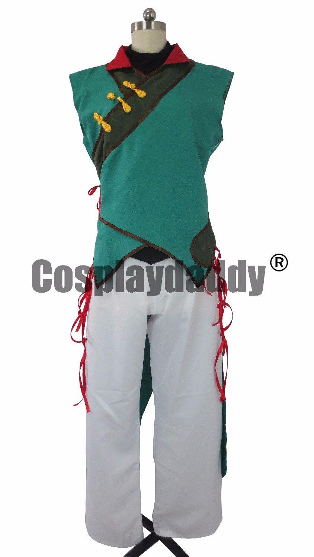 RWBY Volume 4 Lie Ren Costume Adult Men Halloween Cosplay Costume Clothes L005