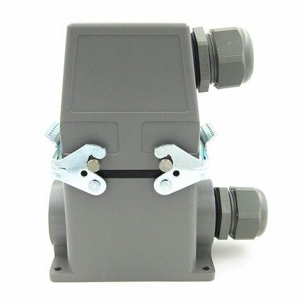 Aviation plug,Heavy Duty connector,Socket Plug Rectangle HDC-HE-032-3 32pins 16AAviation plug,Heavy Duty connector,Socket Plug Rectangle HDC-HE-032-3 32pins 16A